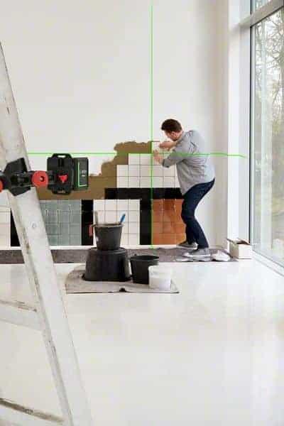 BOSCH križni laserski nivelir Quigo green
