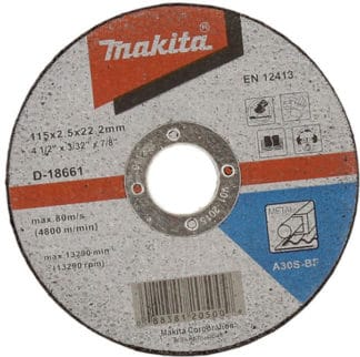 MAKITA rezna ploča 115×25 mm D-18661
