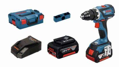 BOSCH aku bušilica-izvijač GSR 18 V-EC 2xAku 18V 5,0Ah + kovčeg
