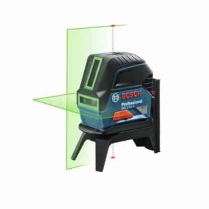 BOSCH križni laserski nivelir GCL 2-15 G + kovčeg