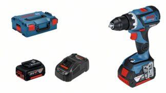 BOSCH aku bušilica-odvijač GSR 18V-60 C 2xAku 18V 5,0Ah + L-BOXX