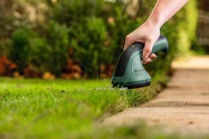 BOSCH aku škare za travu EasyShear + nastavak za grmlje