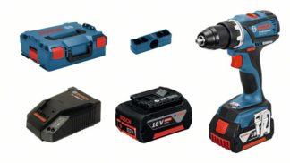BOSCH aku bušilica-izvijač GSR 18 V-EC 2xAku 18 V 5,0Ah + L-BOXX