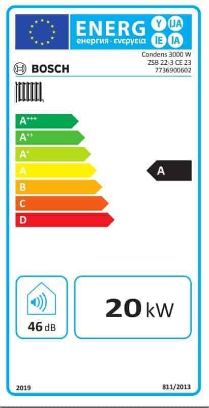 BOSCH kondenzacijski paket Eco 2B Light, kondenzacijski kombi bojler