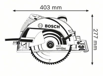 BOSCH ručna kružna pila GKS 235 Turbo