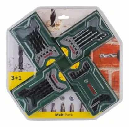 BOSCH 45-dijelni set bitova i svrdla Multipack 3+1 Mini-X-Line
