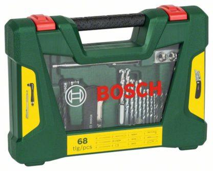 BOSCH 68-dijelni V-Line Classic set s preklopnim nožem, magnetskim štapom i kutnim izvijačem