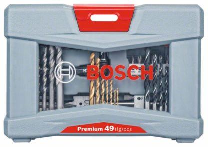 BOSCH 49-dijelni Premium X-Line set svrdla i bitova izvijača