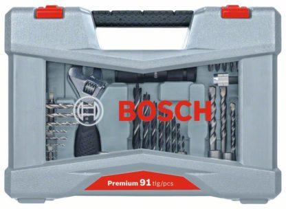 BOSCH 91-dijelni Premium X-Line set svrdla i bitova izvijača