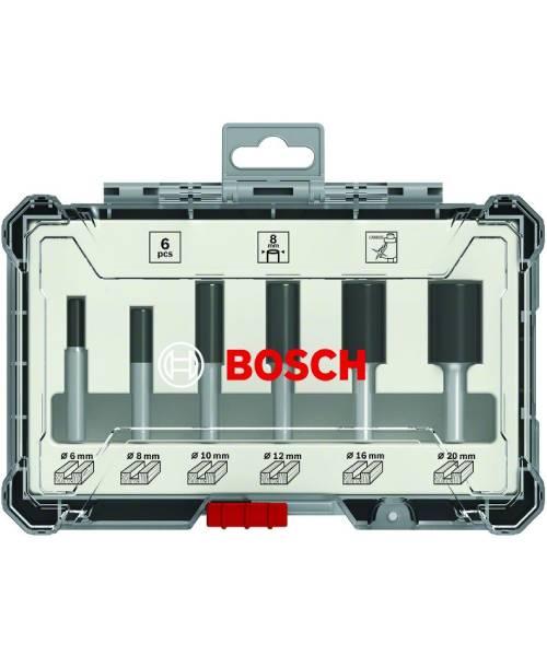 BOSCH 6-dijelni set glodala 6 mm prihvat