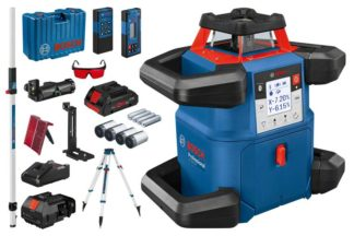 BOSCH građevinski laser GRL 600 CHV + BT 170 HD + GR 240 + kovčeg