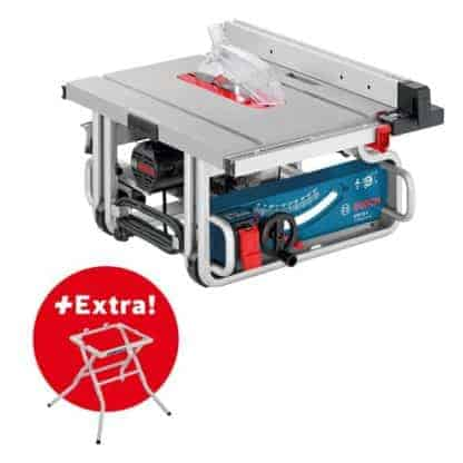 BOSCH stolna pila GTS 10 J + radni stol GTA 6000