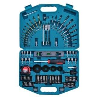 MAKITA 102-dijelni set bitova, nasadnih ključeva, kruna i svrdala P-52037