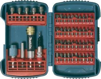 MAKITA 49-dijelni set bitova i nasadnih ključeva P-52043