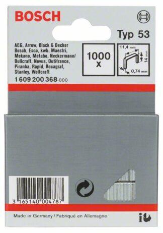 BOSCH set spajalica 11,4×14 mm, 1000 kom, tip 53