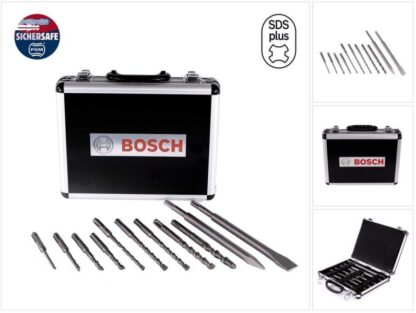 BOSCH 11-dijelni set SDS-plus-3 svrdla
