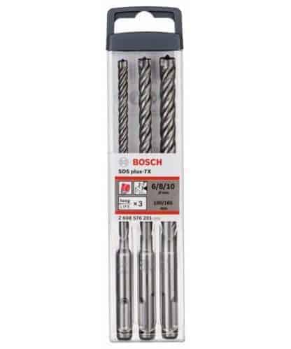 BOSCH 3-dijelni set SDS-plus-7x svrdla