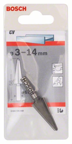 BOSCH konusno svrdlo za ljuštenje lima 3 – 14 mm
