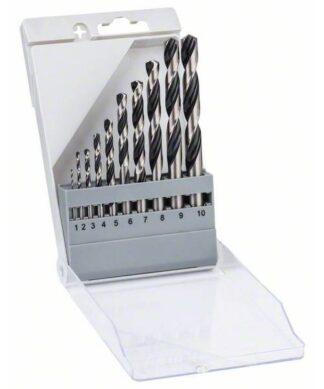 BOSCH 10-dijelni set PointTeQ svrdla za metal HSS