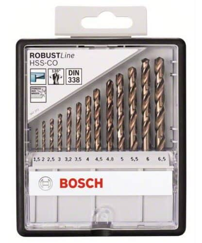 BOSCH 13-dijelni set Robust Line svrdla za metal HSS-Co