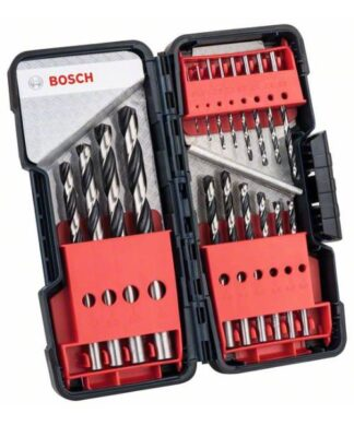BOSCH 18-dijelni set PointTeQ svrdla za metal HSS