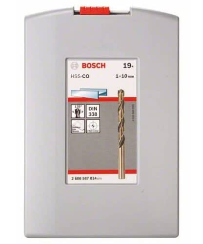 BOSCH 19-dijelni set Robust Line svrdla za metal HSS-Co