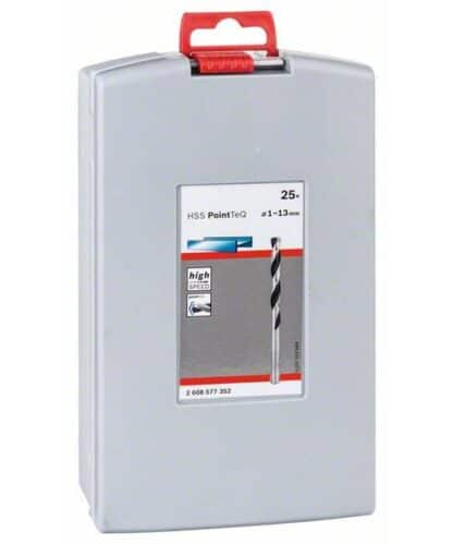 BOSCH 25-dijelni set PointTeQ svrdla za metal HSS ProBox