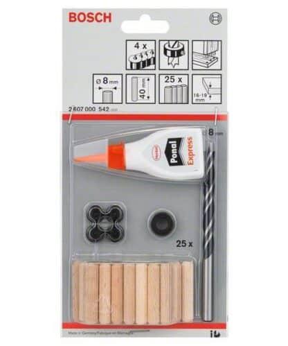 BOSCH 32-dijelni set drvenih tipli