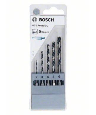 BOSCH 5-dijelni set PointTeQ svrdla za metal HSS sa šesterostranim prihvatom