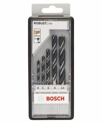 BOSCH 5-dijelni set Robust Line svrdla za drvo