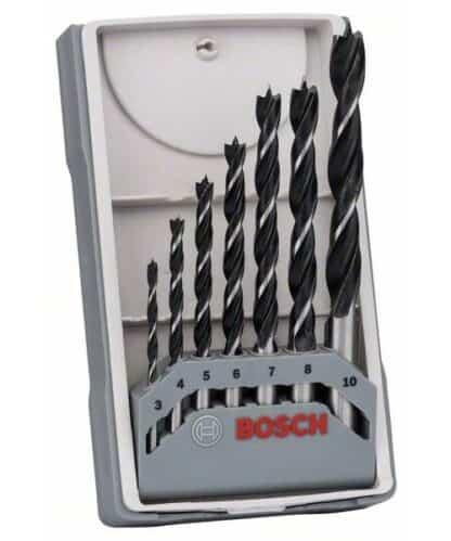 BOSCH 7-dijelni set svrdla za drvo