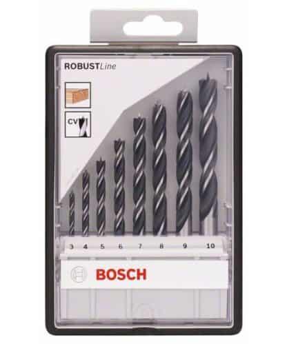 BOSCH 8-dijelni set Robust Line svrdla za drvo