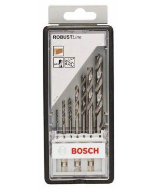 BOSCH Robust Line 7-dijelni set svrdla za drvo sa šesterostranim prihvatom
