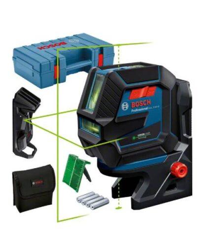 BOSCH križni laserski nivelir GCL 2-50 G + kovčeg
