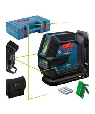BOSCH laserski nivelir GLL 2-15 G + držač + kovčeg