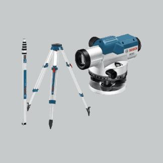 BOSCH optički nivelir GOL 32 D + stativ + mjerna letva