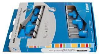 UNIOR set torx ključeva s T-ručicom TX10 – TX45/7