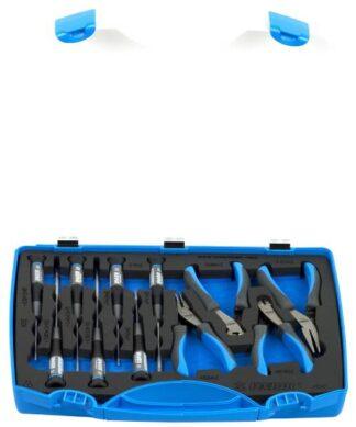UNIOR 11-dijelni set kliješta za elektroniku i izvijača