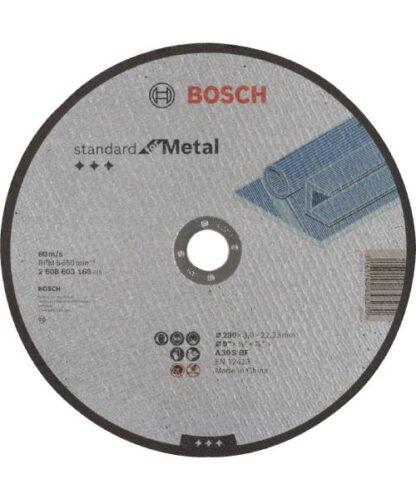 BOSCH rezna ploča za metal ravna Standard 230 ×3,0 mm