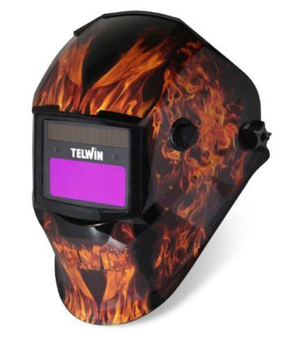 TELWIN fotoosjetljiva maska za zavarivanje STREAM FLAME 804235