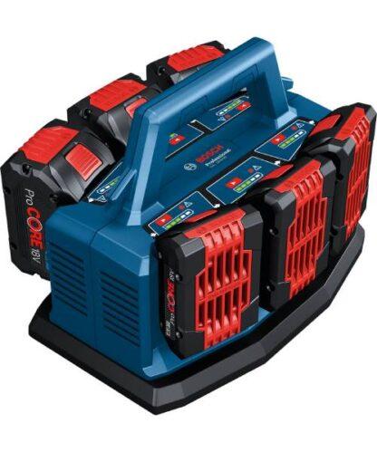 BOSCH punjač za 6 akumulatora GAL 18V6-80