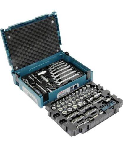 MAKITA 120-dijelni set ručnog alata u Makpac-u E-08713