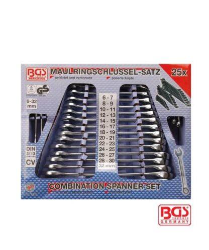 BGS set viljuškasto-okastih ključeva 6-32 mm 25 dijelni pro+ 1190